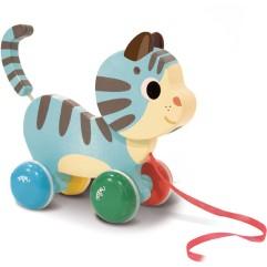 vilac-marcel-le-chat-jouet-en-bois-a-tirer